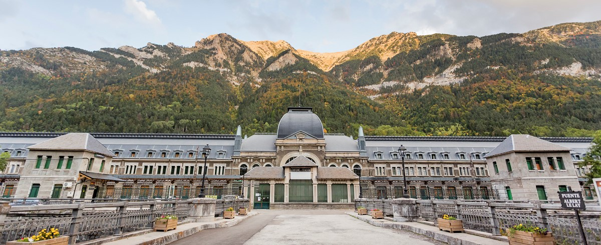 Gare International de Canfranc